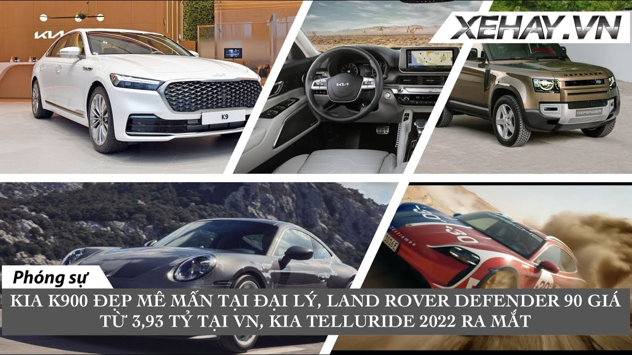 Land Rover Defender 90 giá từ 3,93 tỷ tại VN - Kia K900 2022 xuất hiện ở đại lý - Kia Telluride 2022