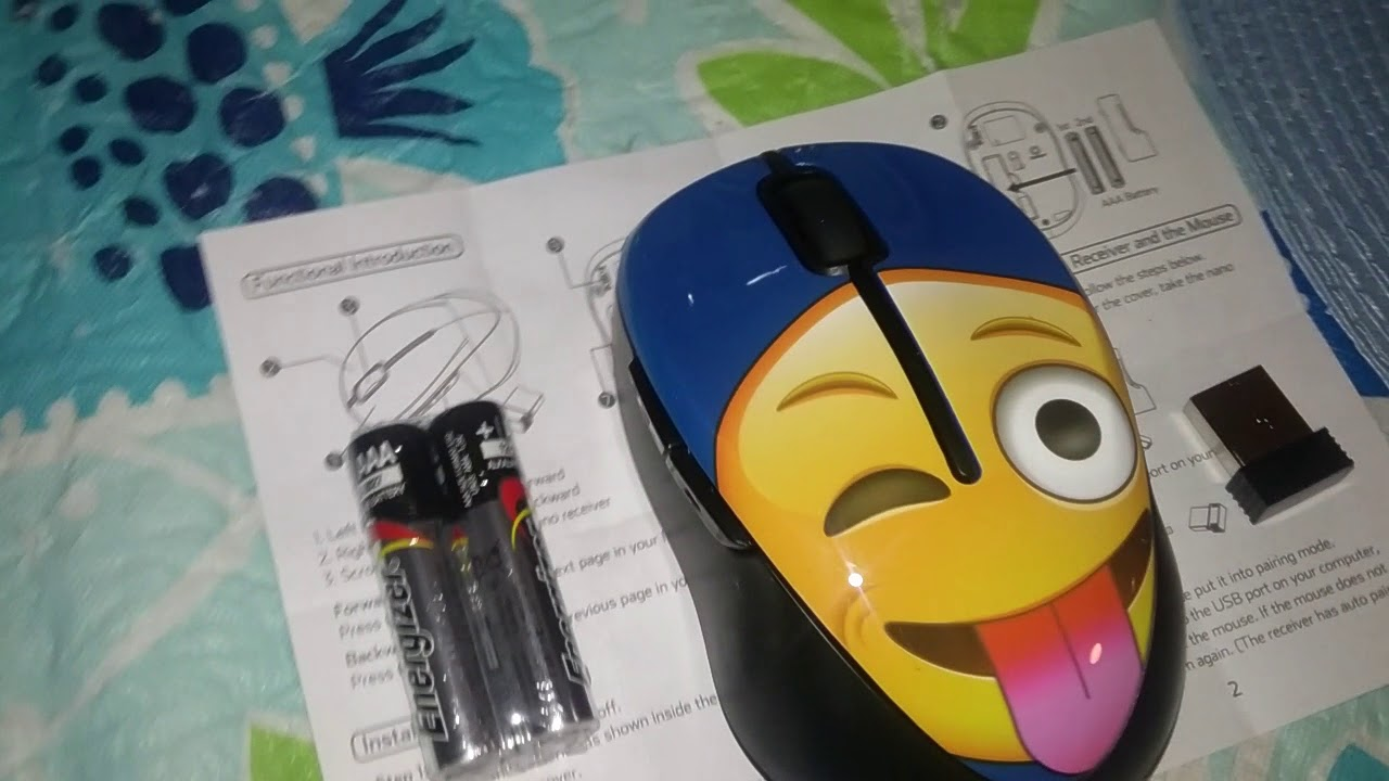 Verballa Assassins By Bmb Onn Emoji Face Wireless Mouse Review Youtube