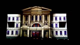 3D-шоу в Омске 12.08.2012