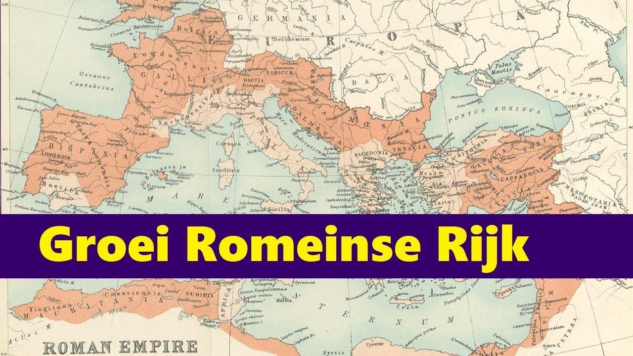 Super Scholieren.com Videoplatform :: Groei van het Romeinse Rijk UV-16