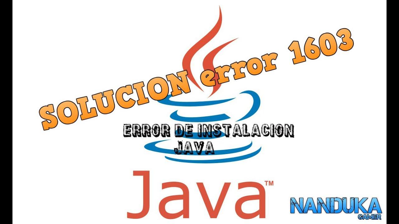 Java Installation Error 1618 - linoaxchange