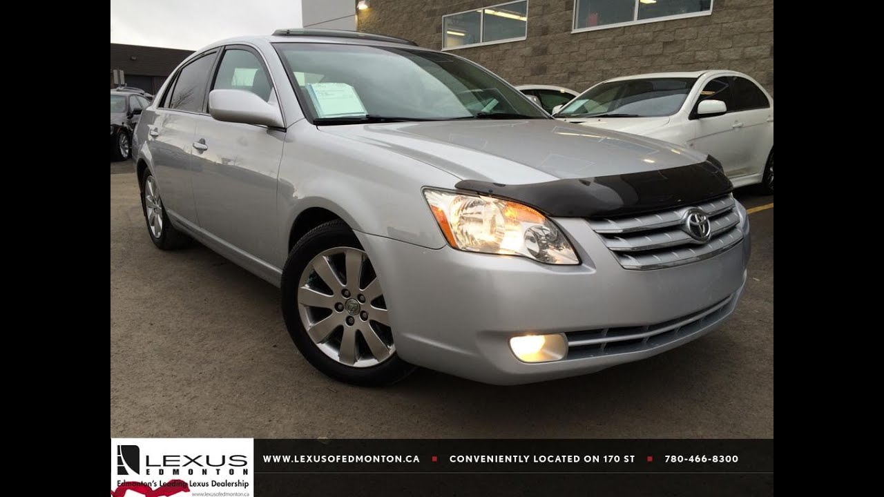 Used Silver 2006 Toyota Avalon Xls Review Morinville Alberta You