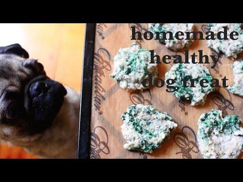 homemade healthy dog treat - banana chia spirulina cookie