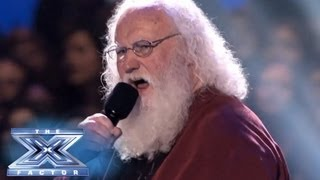 Denny Smith Tackles Wilson Pickett - THE X FACTOR USA 2013