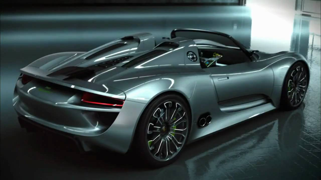 porsche 918 spyder concept development youtube. Black Bedroom Furniture Sets. Home Design Ideas