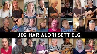 Jeg har aldri sett en elg/Oslo Ukuleleorkester