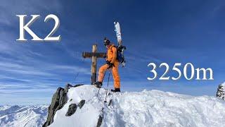 K2 3250m/Rifflsee/Pitztal