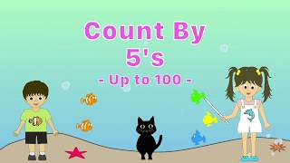 Count by 5's | Skip Counting by 5's - Counting to 100 by 5's - YouTube