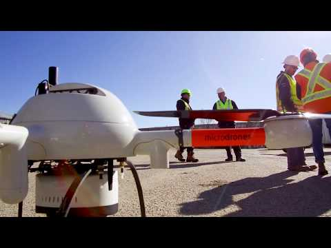 Microdrones- Fully Integrated Aerial mapping, surveying and inspection systems for professionals