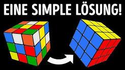 Wie löst man einen 3x3 Zauberwürfel im Null Komma Nix |Eine simple Anleitung