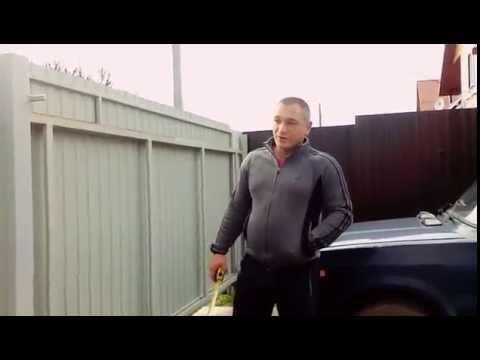 видео: Откатные ворота