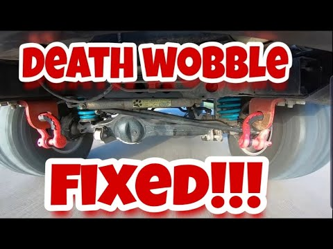 HOW TO FIX - DEATH WOBBLE ON A 80 SERIES LANDCRUISER - CAUGHT ON CAMERA FOLLOW UP VIDEO