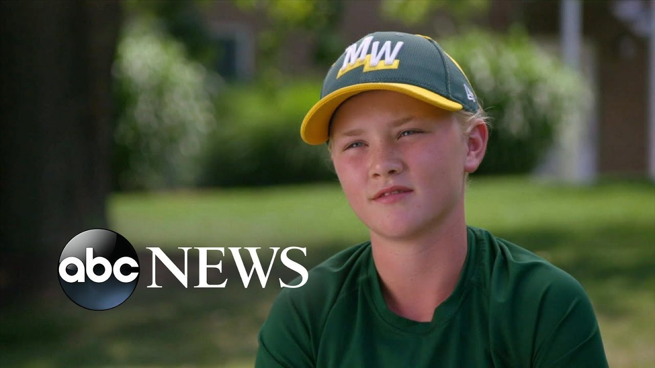 ABC News:12-year-old is only girl playing in Little League World Series