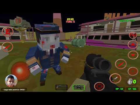 Pixel Gun Warfare 2 Zombie Attack Offline Mobile PlayThrough