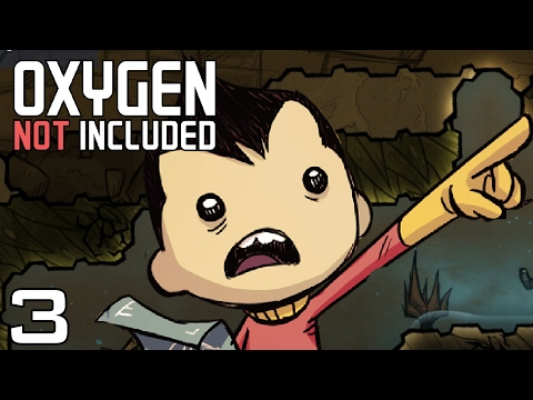 Oxygen Not Included | Ep 3 - Remodelling [Oxygen Not Included Gameplay Alpha]
