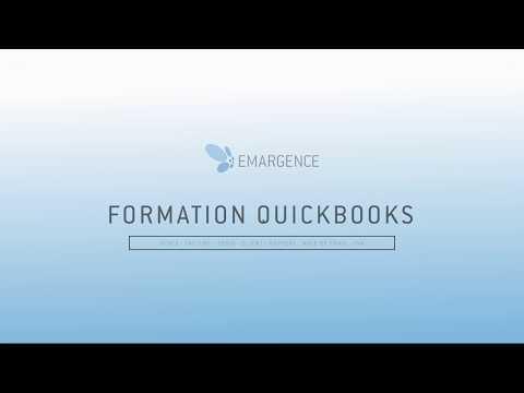 FORMATION QUICKBOOKS EMARGENCE