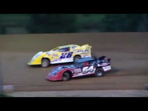 Dog Hollow Speedway - 8/5/16 Street Stock Heat Race #1