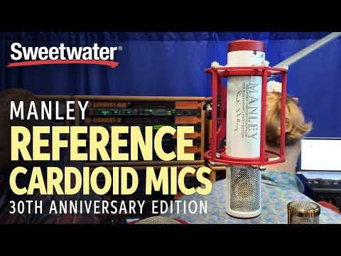 Sweetwater at AES 2019 — Manley Reference Cardioid Microphones 30th Anniversary Edition