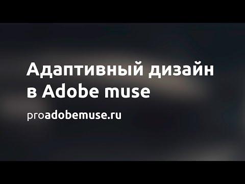 Полный обзор адаптивного дизайна в Adobe Muse