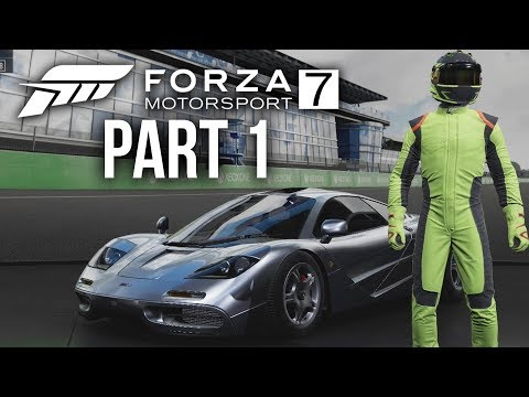 FORZA MOTORSPORT 7 Gameplay Walkthrough Part 1 - MY FIRST CAR (Full Game)