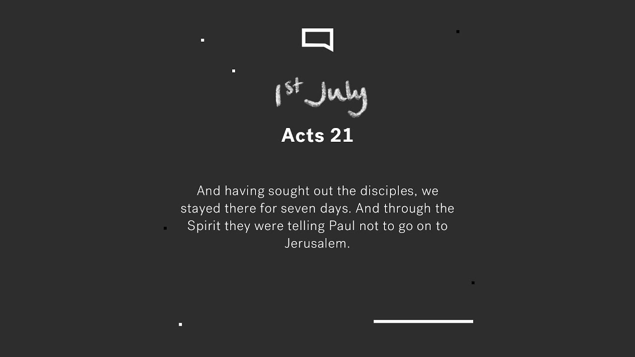 Daily Devotion with Steve Walford // Acts 21 Cover Image