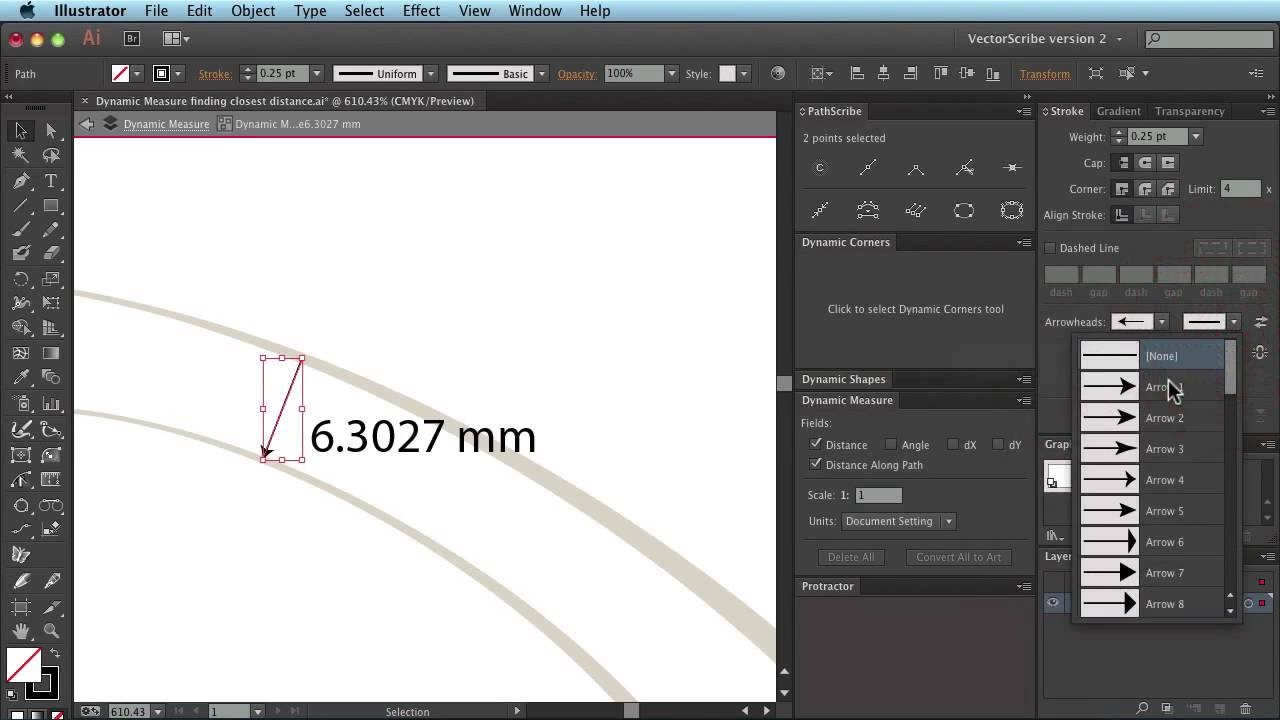 how to change measurement in illustrator