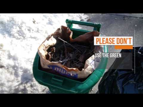 City of Kingston - Green Bin - Dos & Don'ts