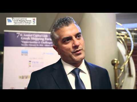 2016 7th Annual Greek Shipping Forum - interview Jasel Chauhan