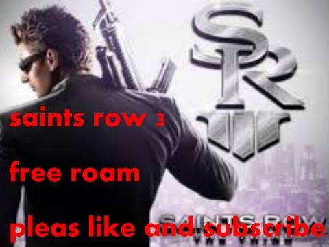 saints row 3 free roam 123