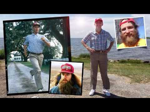 Forrest Gump's Run Across America is Recreated by Englishman Rob Pope