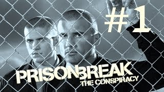 Prison Break:The Conspiracy / Побег из тюрьмы. Прохождение. #1