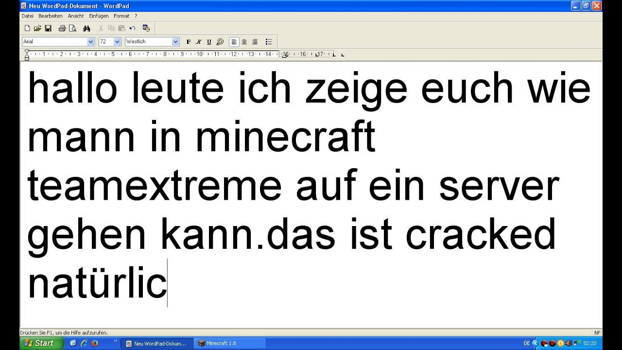 Wie Kann Man In Minecraft Team Extreme Auf Ein Server Cracked - Minecraft server erstellen 1 8 cracked