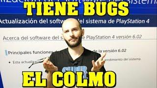 ¡ACTUALIZACIÓN CON BUGS DE PS4 PARA ARREGLAR PSN! - Sasel - Playstation network - online