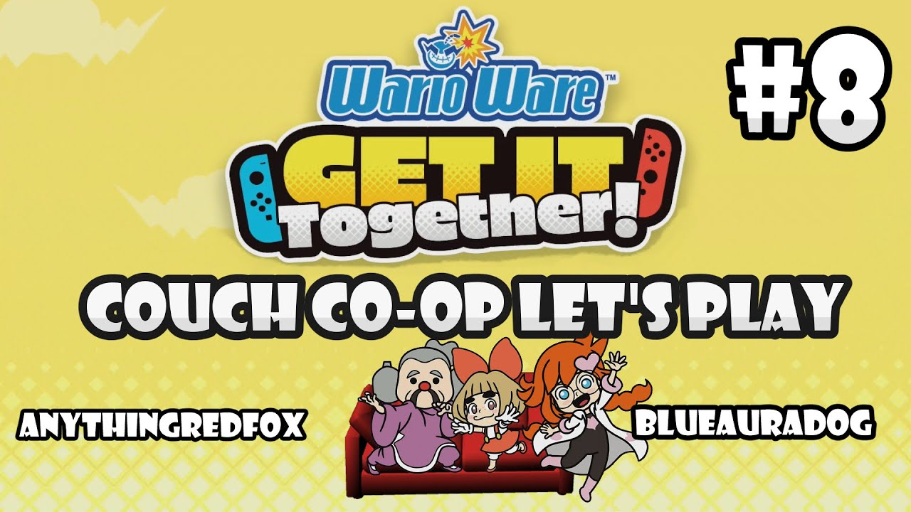 [Let's Play] [Couch Co-Op] WarioWare: Get It Together! PART 8: Mantis, Lulu, Penny [Nintendo Sw