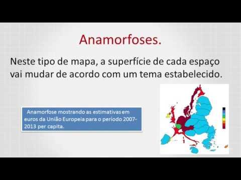 Cartografia- Anamorfoses.