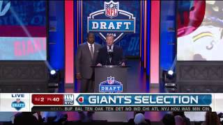 Giants pick WR Sterling Shepard No. 40