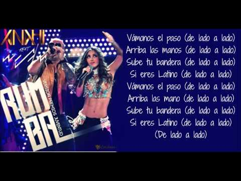 Rumba ft  Wisin (letra) Anahí