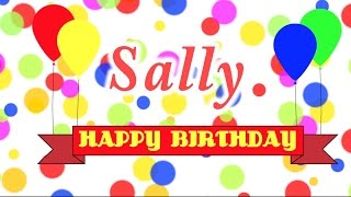 Happy Birthday Sally Song