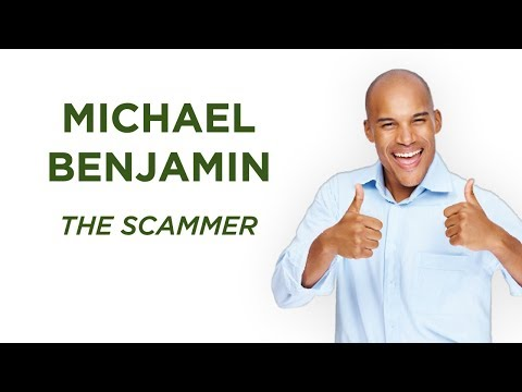 Michael Benjamin the Scammer | A Scam Story #10