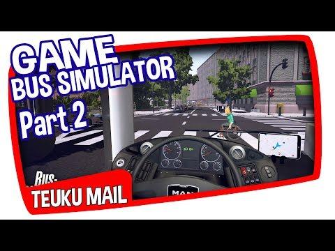 TEUKU MAIL - RIVIEW GAME BUS SIMULATOR (SEMPATI STAR DOUBLE DECKER)