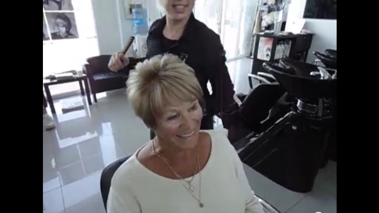 How To Blow Dry Short Hair Tips By Amal Hermuz Youtube