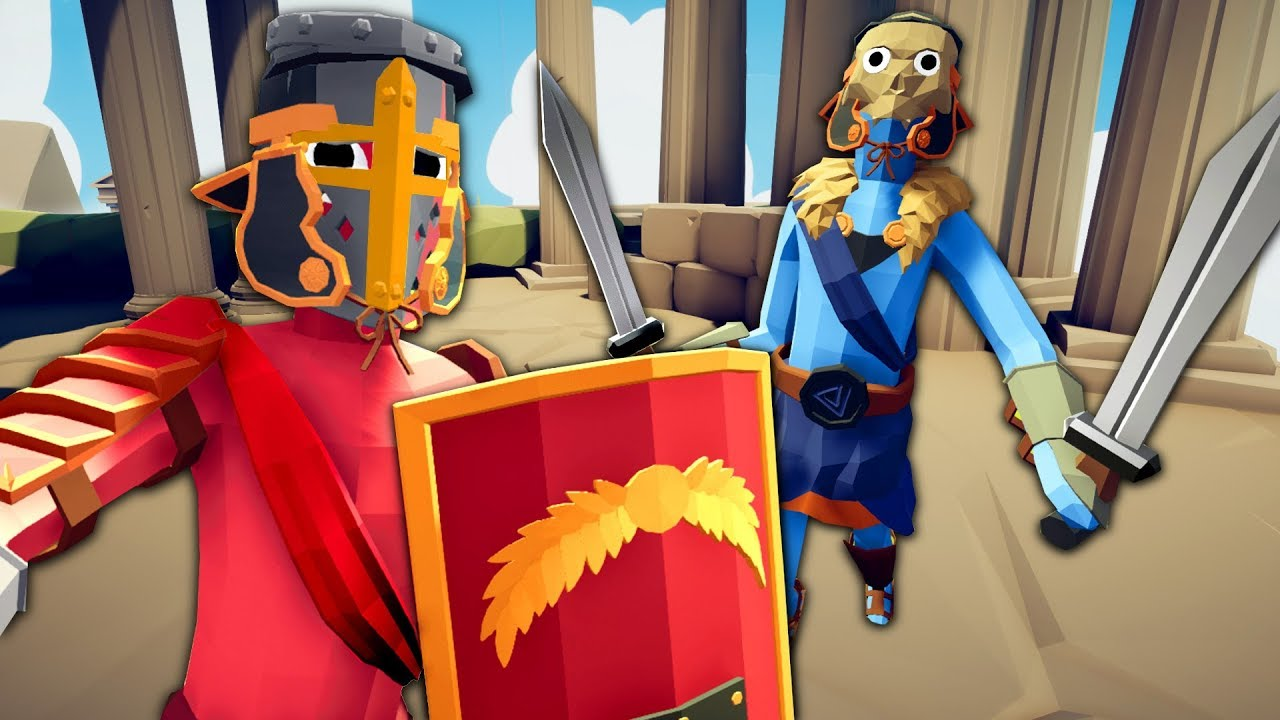 THE GLADIATOR FACTION - Totally Accurate Battle Simulator ...