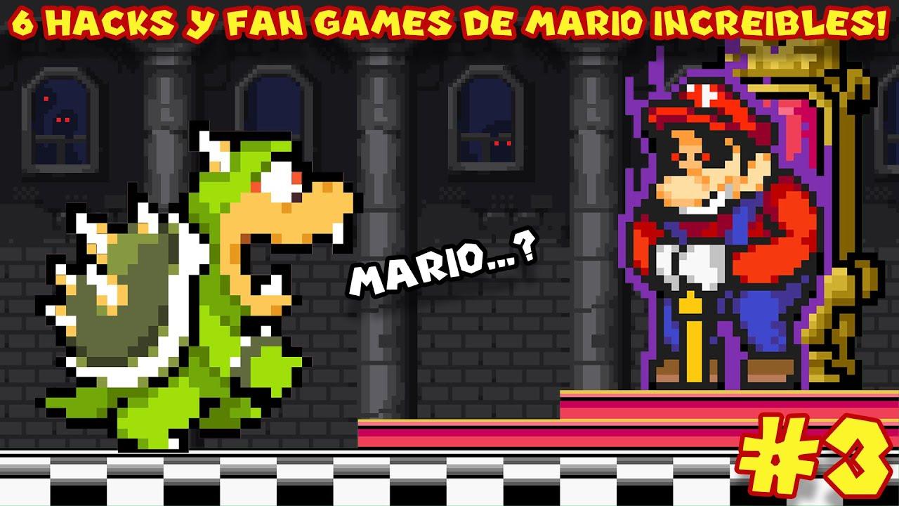 6 Hacks y Fan Games de Mario TAN INCREÍBLES que Parecen Hechos por NINTENDO (PARTE 3) - Pepe el Mago