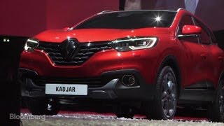 Renault Unveils 'Extremely Sensual' New SUV