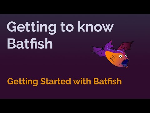 Getting Started With Batfish