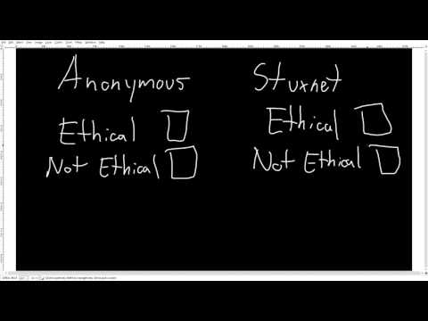English project - hacking ethics