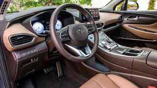 2021 Hyundai Santa Fe - INTERIOR, Exterior & Driving