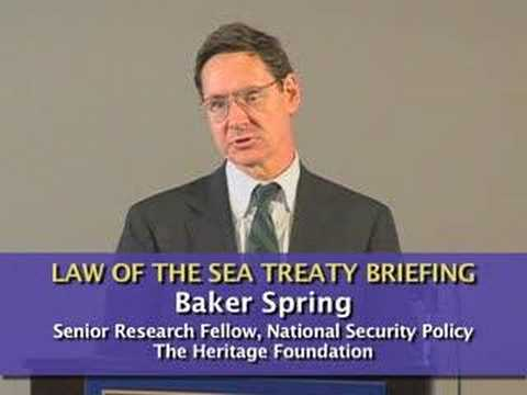 Baker Spring: Will United States Sovereignty Be Lost?
