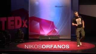 Σαραντατρία χρόνια σε δέκα λεπτά: Μια βιογραφία με φαντασία: Νίκος Ορφανός at TEDxAcademy