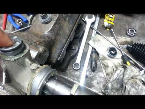 Kia cee\'d 2008 год 1.6 бензин. Устраняем стук в электро рейке. Номера запчастей.